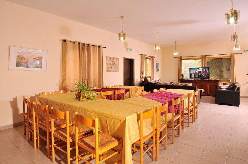וילה מונפורט-חדר אורחים